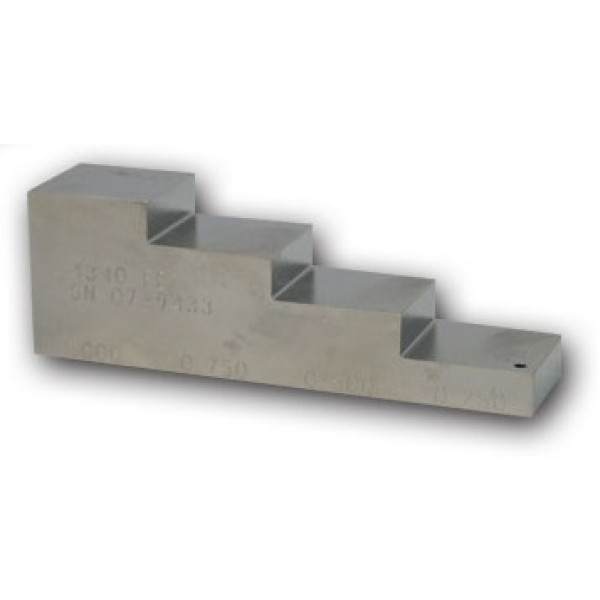 4 Step UT Block Steel (4340)