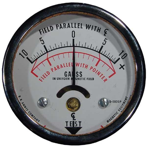 10-0-10 Calibrated FIeld Indicator with Certificate