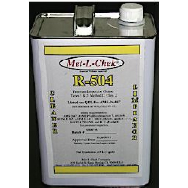 R-504 Remover/Cleaner  1 Gal.