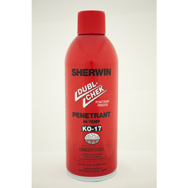 K017 High Temperature Penetrant 9 X 16oz Case