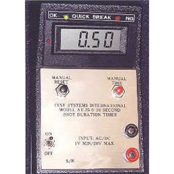 AT-25 Shot Duration Timer w/Certification in Portable case