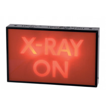 """X-RAY ON"" Single Sided Sign"