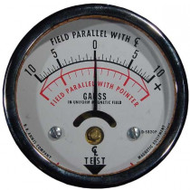 10-0-10 Calibrated Not Certified Field Indicator Metal