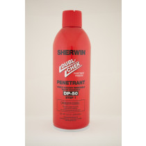 DP50 Visible Red Dye WW Penetrant 9 X 16oz Case